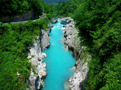 Soca Valley - Magnificent Emerald River