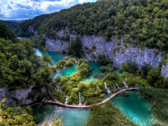Plitvice Lakes - Overflowing lakes