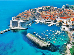 Dubrovnik - At end of Croatian Adriatic